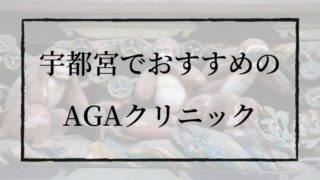 栃木・宇都宮のAGAクリニック|おすすめは3選のみ